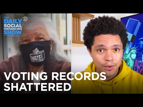 Early Voting Sets Records As Trump Trashes Fauci | The Daily Social Distancing Show