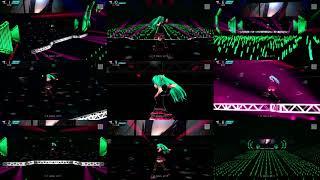 初音ミク Project DIVA PS3版F 2nd(2014)に収録のライブ版です 9つの視点を選んで並べてみました 曲名が出る時のSEはBGMと同一トラックなので消せません...