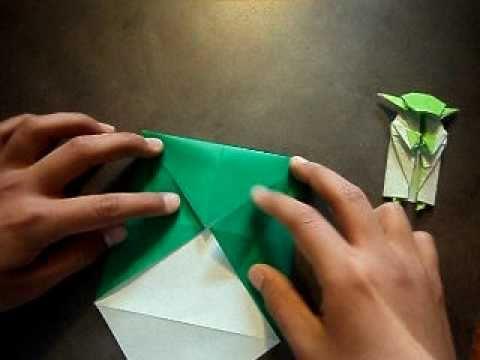 How To Make Origami Yoda Part 1 Youtube
