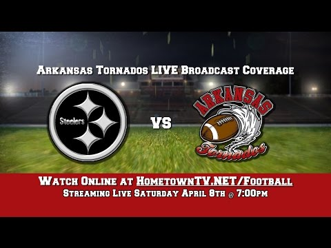 The Arkansas Tornado vs  Arkansas Steelers (April 8, 2017)