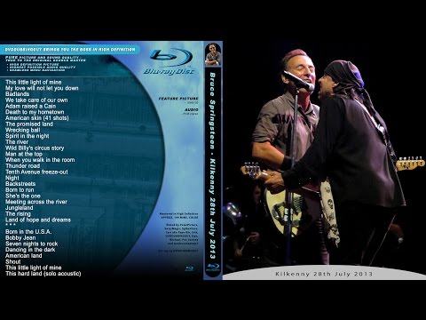 Bruce Springsteen - FULL SHOW Kilkenny 28.7.2013 - final Wrecking ball concert - multicam