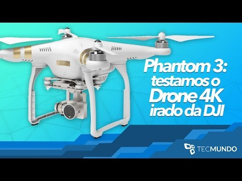 Download Youtube: Phantom 3: testamos o Drone 4K irado da DJI - TecMundo