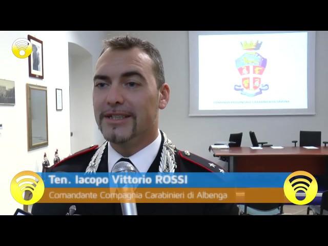 """Loano: blitz dei Carabinieri, """"futura mamma"""" nasconde armi e droga in casa: video #1"""
