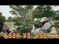 K98k Vs. VSS Which is a better gun in PUBG? [Highlights]