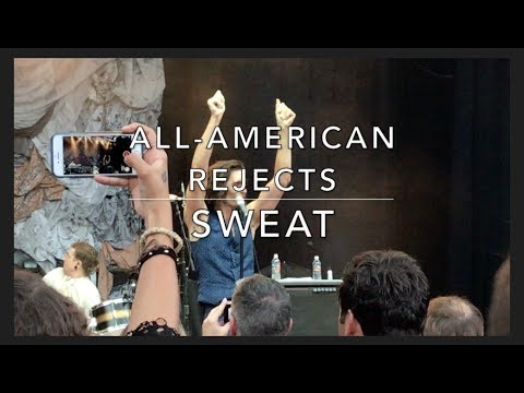 The All-American Rejects - Sweat - Live