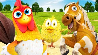 Music and Fun at The Farm! - Videos for Kids