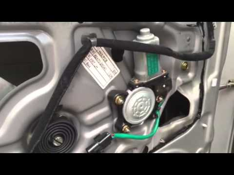2004 Hyundai Santa Fe Window Motor Replacement