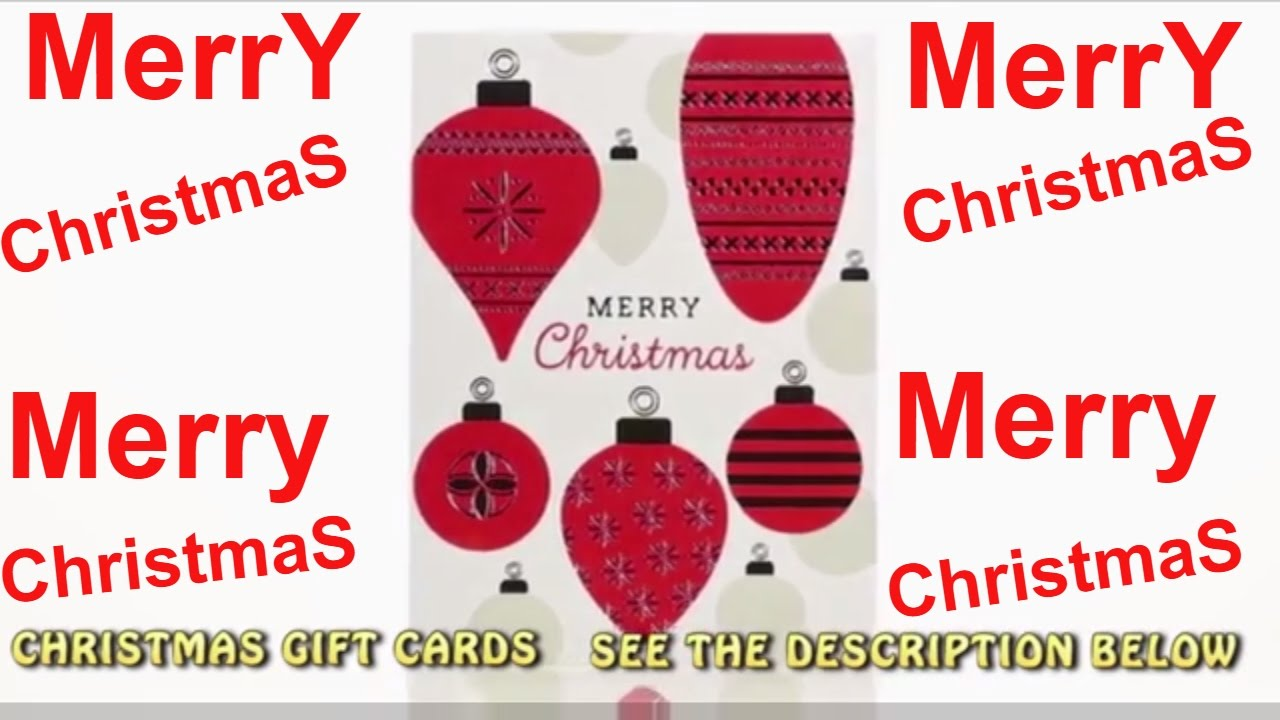 Christmas Gifts Cards 2016 CHEAP & EASY CHRISTMAS PRESENTS - YouTube