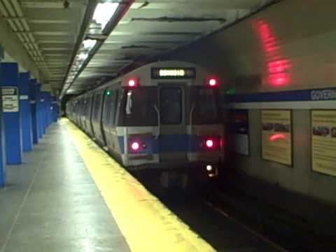 MBTA Blue Line at Government Center Station
