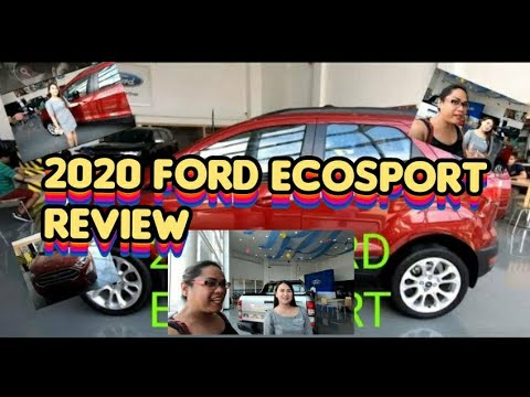 2019 - 2020 Ford EcoSport 1.5 Trend AT Interior and Exterior || Miamia Vlogs #23