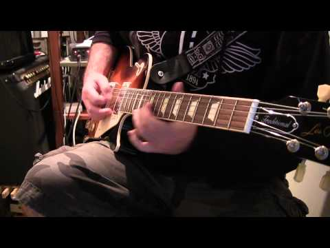 Drop B Tuning on Gibson Les Paul