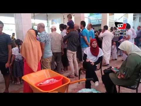 الذبح فى حلوان بإشراف المسجد «عيد نظيف»