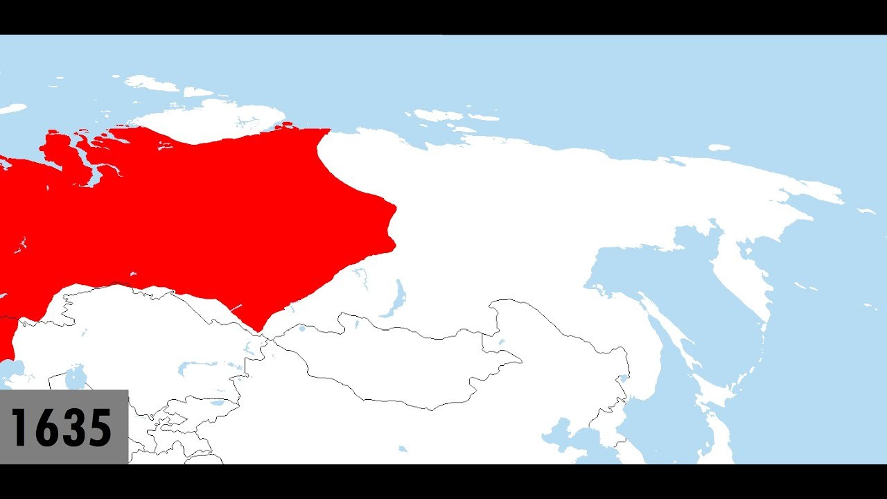 The Russian Conquest of Siberia Every Year YouTube