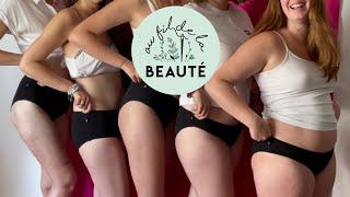 Vidéo: Culotte Menstruelle Lavable et Réutilisable, pour tous types de flux