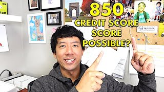 HOW TO IMPROVE YOUR CREDIT SCORE TO 850 | TIPS, TRICKS AND ADVICE