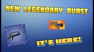 NEW LEGENDARY BURST RIFLE IS ALMOST HERE! Fortnite Battle Royale PS4 Live (Better than Blue Burst?)