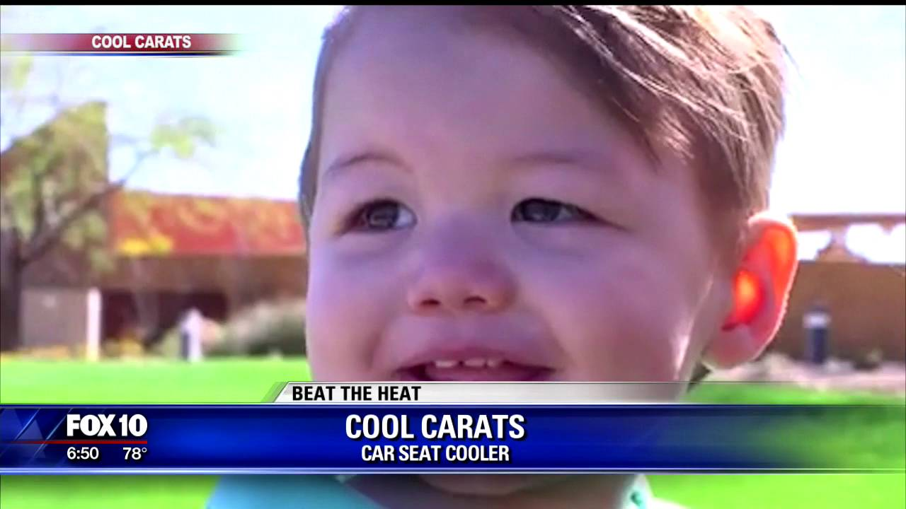 Car seat cooler - YouTube