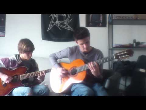 Avenged Sevenfold - Unholy confessions acoustic guitar cover