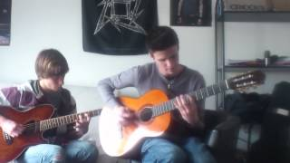 avenged sevenfold unholy confessions acoustic guitar cover