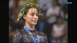 Catalina Ponor. Romanian Anthem. Athens 2004