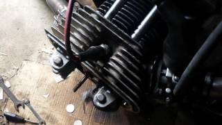 Запуск двигателя после замены колец