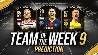 CAVANI 90, REUS 87, SERGIO RAMOS 92 & DEPAY 85! 😱 TOTW 9 PREDICTIONS FIFA 19 [FUT 19 ITA]