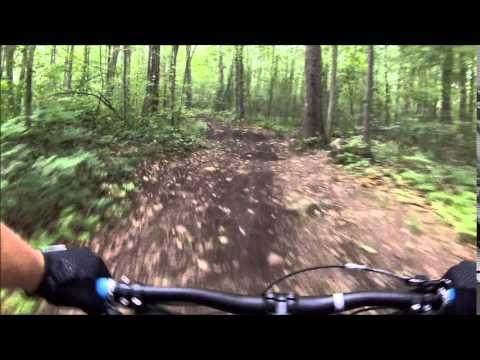Mountain Biking Shenipsit State Forest August 2, 2014