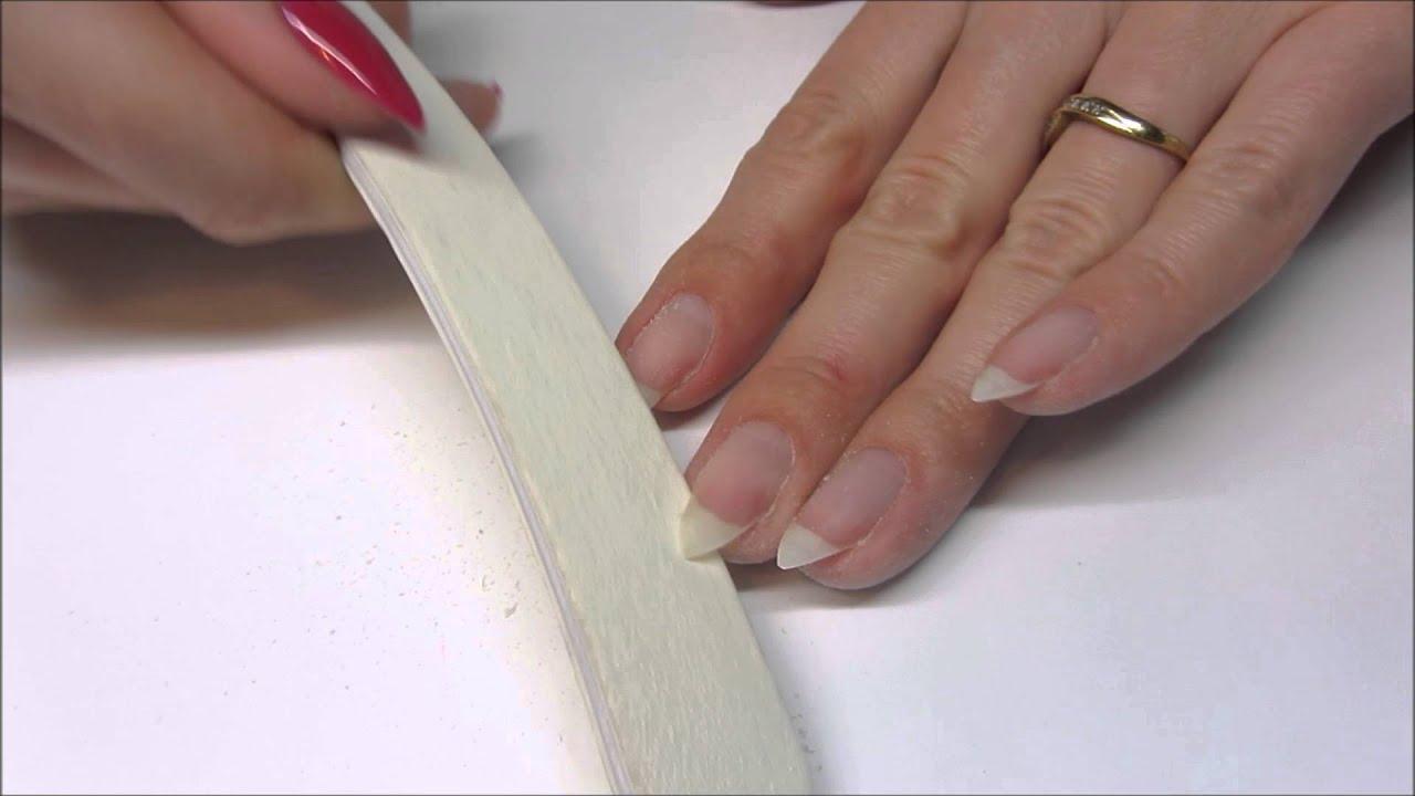 Diy Jak Zrobic Migdalki How To Almond Shaped Nails Youtube