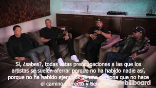 Kendrick Lamar entrevista a NWA (Subtitulado en español) Billboard