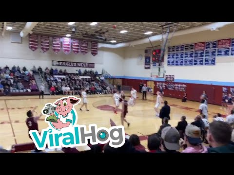 Watch: High school player's buzzer-beater is one for the ages