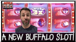 🐃 BUFFALO GOLDEN 7's - A NEW DOLLAR SLOT 🐃 CASH ME OUT WITH NEILY777