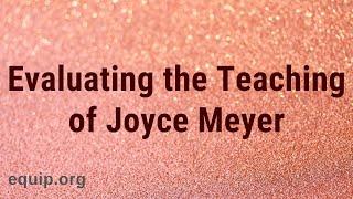 The Teaching of Joyce Meyer