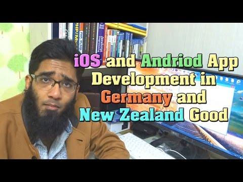 Is iOS and Andriod App Development in Germany and New Zealand Good ?