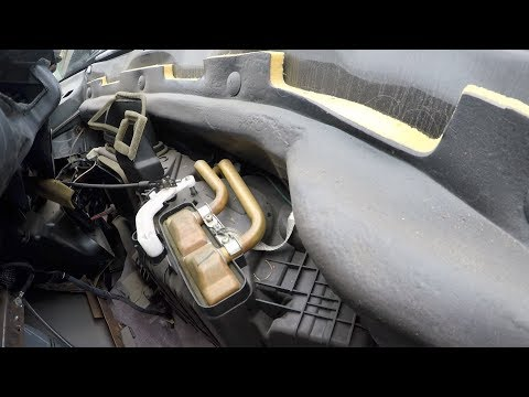 1997 Dodge Ram Heater Core Change ►THE EASY WAY