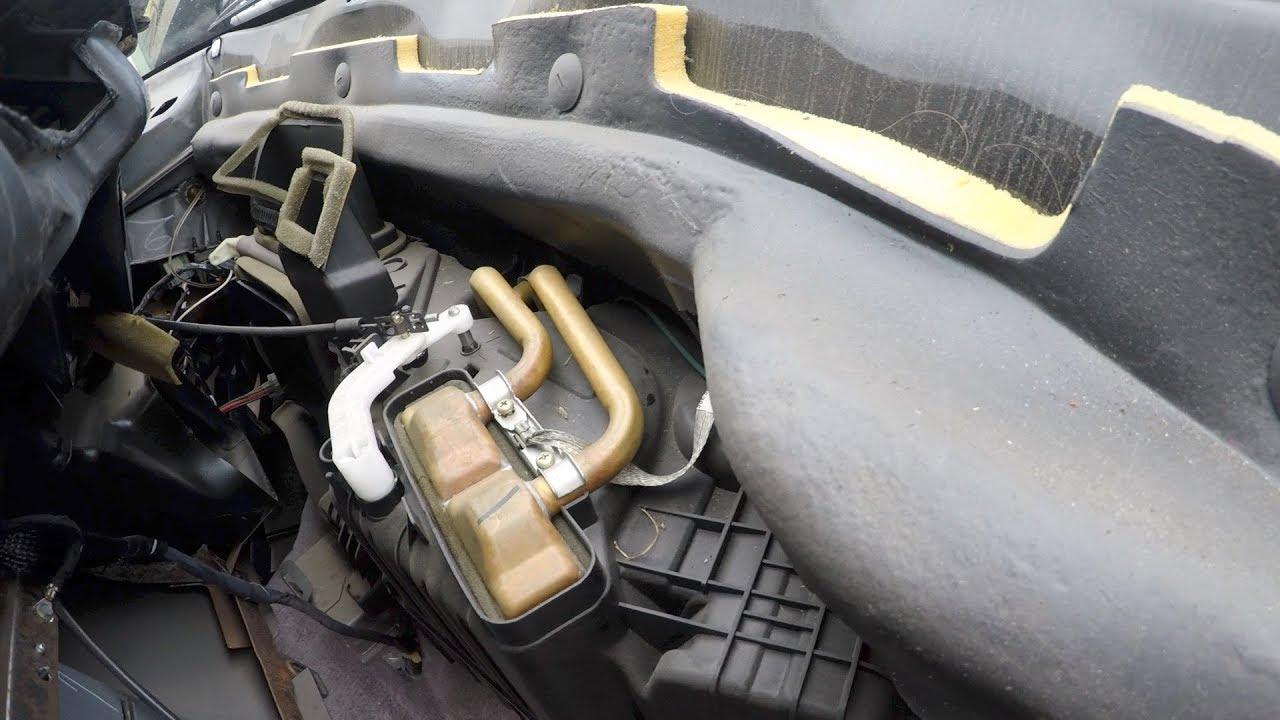 1997 Dodge Ram Heater Core Change THE EASY WAY  YouTube