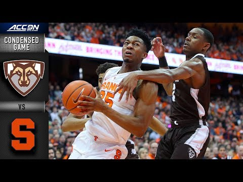 St. Bonaventure vs. Syracuse Condensed Game | 2018-19 ACC Basketball