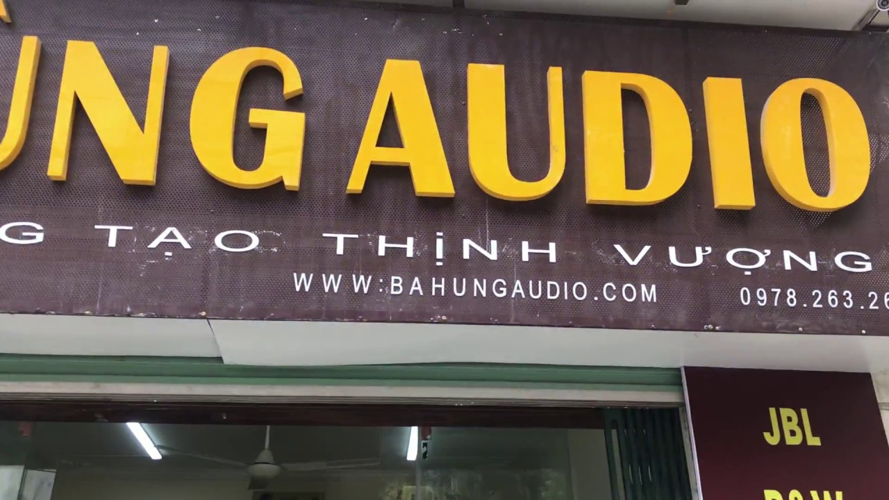 Shop Bá Hùng Audio rất  vui được giao lưu cùng các bác mọi miền tổ quốc