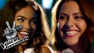 1 Thing - Amerie | Alicia Awa-Beissert & Dijana Jashari Cover | The Voice of Germany 2015 | Battles