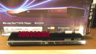 Toshiba Wi-Fi Blu-Ray Player: UnBoxing