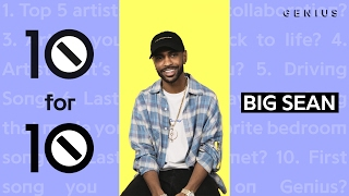 "Big Sean Plays R. Kelly's ""Greatest Sex"" In The Bedroom 