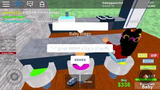 Baby Diego's Happy life (ROBLOX) (Part 1)