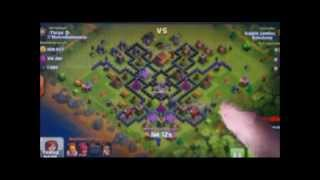 Clash of Clans- Marx base (from Kirby Super Star (Ultra) )
