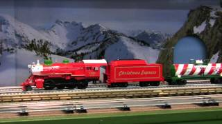 mth christmas steam freight train set 30 4229 1