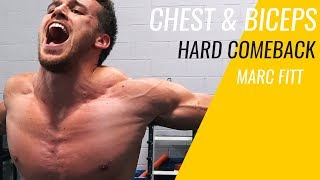 IT HURTS LIKE CRAZY - MY FIRST CHEST & BICEPS WORKOUT