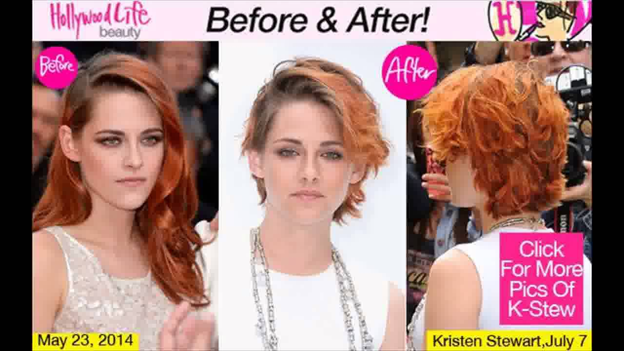 Kristen Stewart Gets Dramatic Short Hair Cut See Makeover Youtube