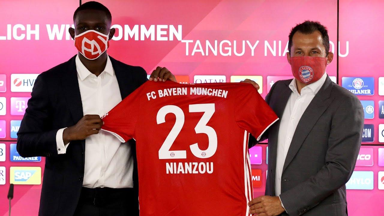 """""""Sehr gute Wahl""""   FC Bayern Pressegespräch mit Tanguy Nianzou Kouassi & Hasan Salihamidžić"""