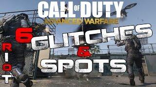 Call of Duty: Advanced Warfare Riot 6 Glitches & Spots (PS4)