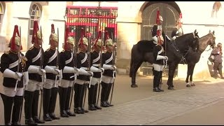 Blues And Royals - Four O'clock Parade - 20 April 2015