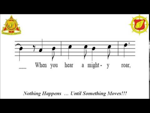 U.S. Army Transportion Song with notes & lyrics