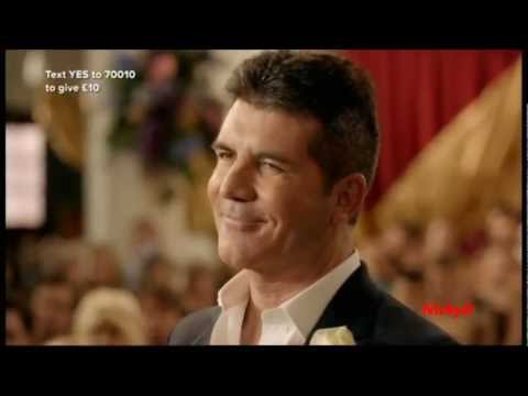 The Wedding Of Simon Cowell & ??? (Comic Relief 2013)